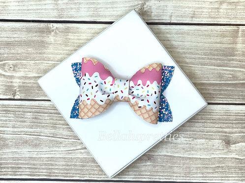 Ice Cream  Pixie Pinch Bow