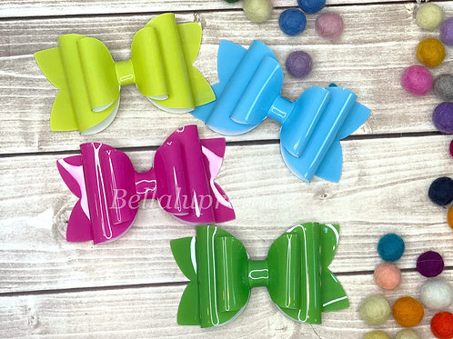 Neon Jelly Bella Bow