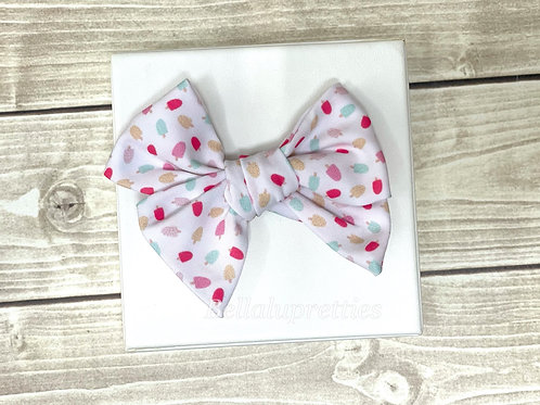 """Popsicle 3.5"""" Pretty Bow"""