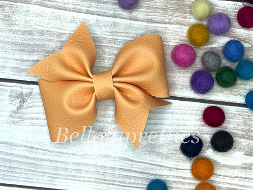Orange Larkin Bow