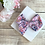 Thumbnail: Pink Floral Essence Large Pretty Bow