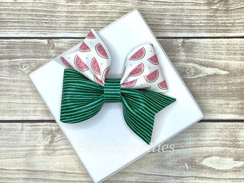 Watermelon Larkin Bow