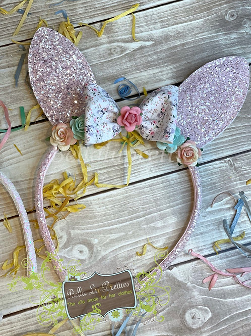 Blush Bunny Headband 1