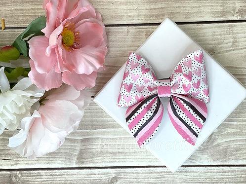 Pink Hearts Floral Sailor