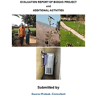 Evaluation of Biogas and additional acti