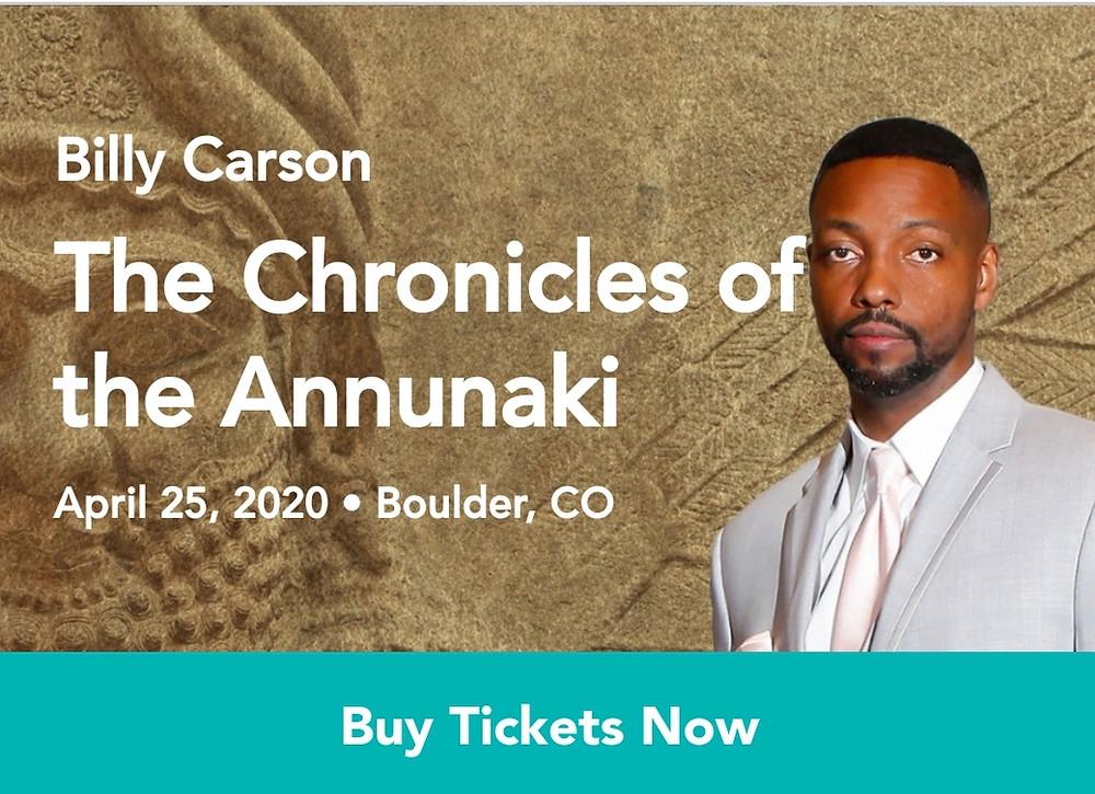 Billy Carson - Chronicles Of The Anunnaki - Gaiasphere