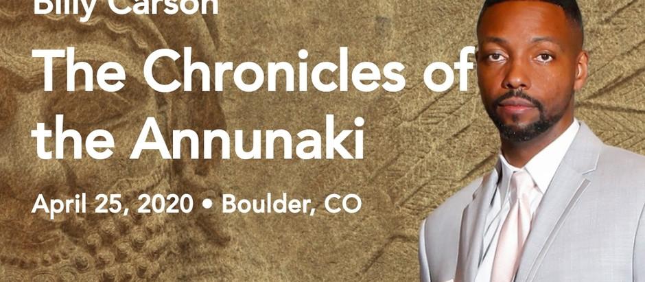 Chronicles Of The Anunnaki Live Workshop!
