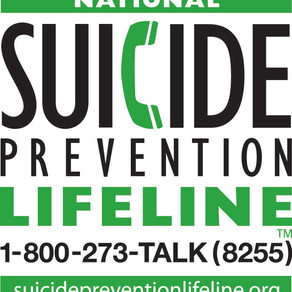 National Suicide Prevention Week 2020