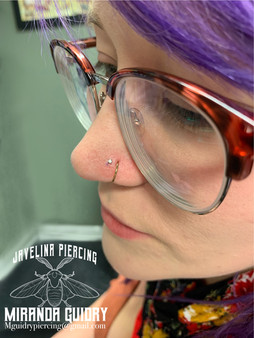 Second Nostril Piercing