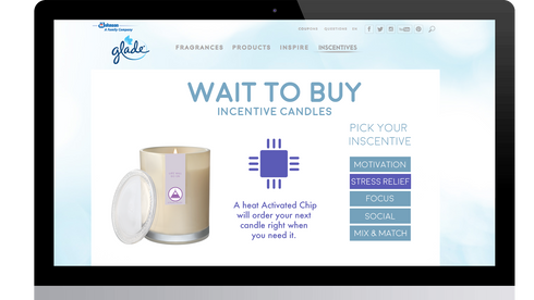 ROLE: Art Director, Designer  The scented candle market stinks! To drive more interest in scented candles outside of using them in the bathroom, we created a candle line that's specific to the activities you would need them most for.