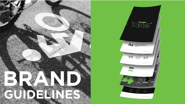Brand guidelines were created to ensure brand consistency.