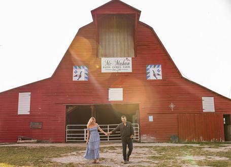Aiden + Rachel | Southern Illinois Farm Engagement
