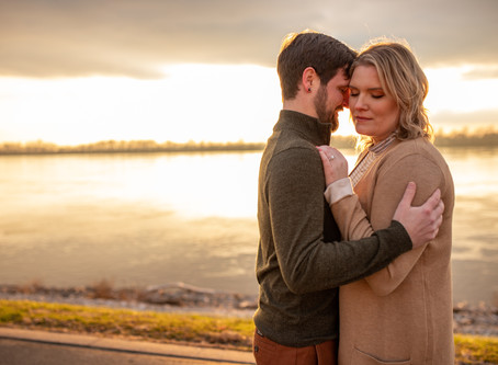Colin + Danielle - An Evansville Engagement