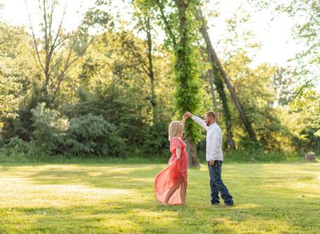 Zach + Katelyn Engaged   Romantic Breathtaking Engagement Session   Southern Illinois