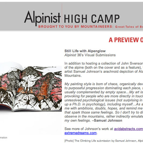 Alpinist Artist Feature