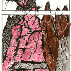 Neacola Dogtooth - Plein Air Ink