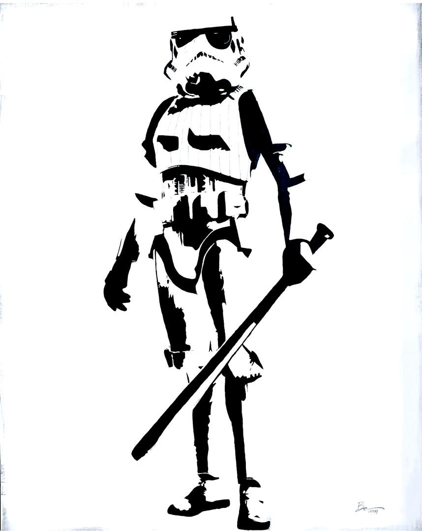 Baseball Fury Stormtrooper