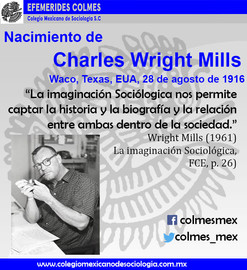 Nacimiento de Charles Wright Mills