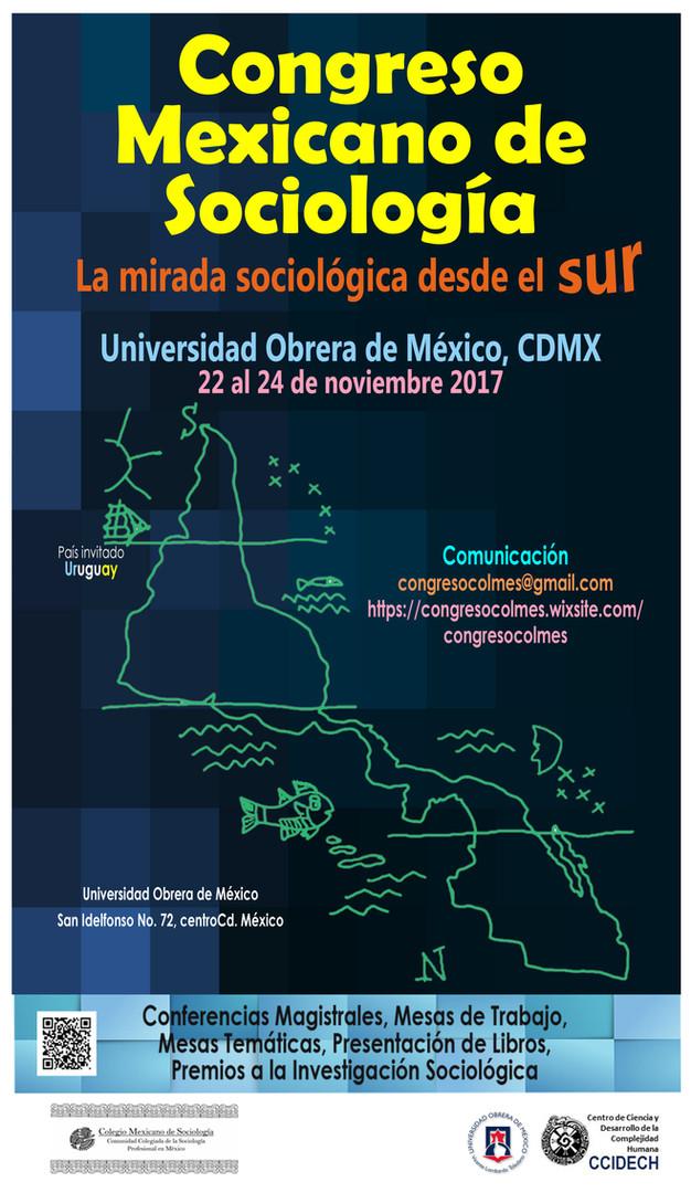 Cartel Congreso Sociologia, 20 0ctubre 2