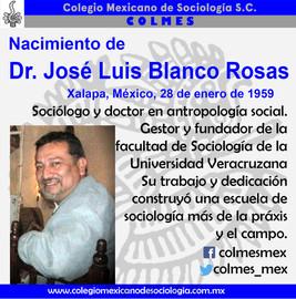 Nacimiento de Dr. Jose Luis Blanco Rosas