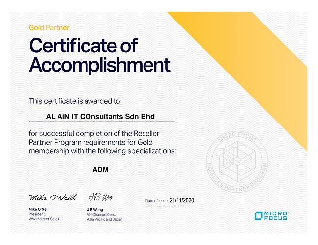 APJ Partner Program_Reseller_Certificate