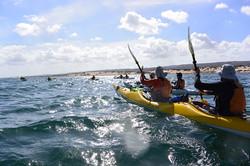 Easy sheltered paddling