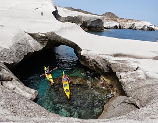 Sea Kayak Milos Front Page Rotator