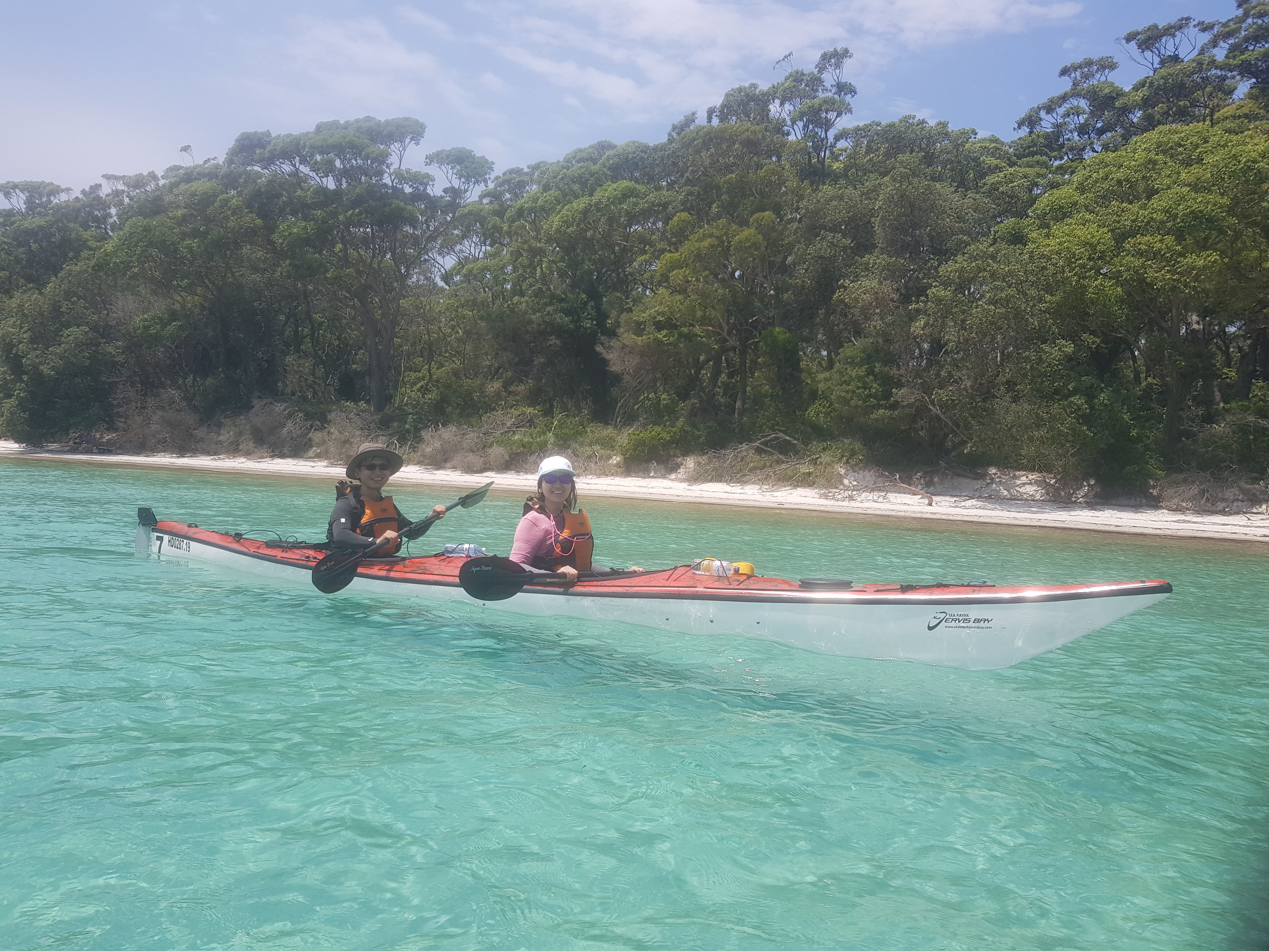 1 Day Double Sea Kayak Hire