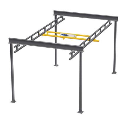 Freestanding Workstation Bridge Crane
