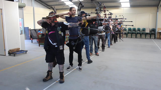 IFAA indoor archery event