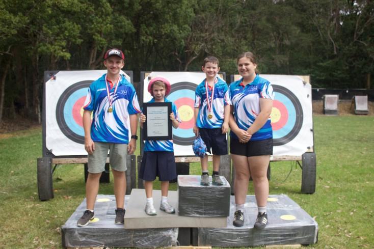 Winners Team Event: Coast Archers 2018