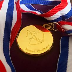Coast Archers Gold Medal