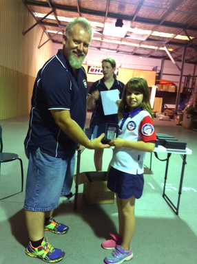 Holly Parker wins indoor archery series