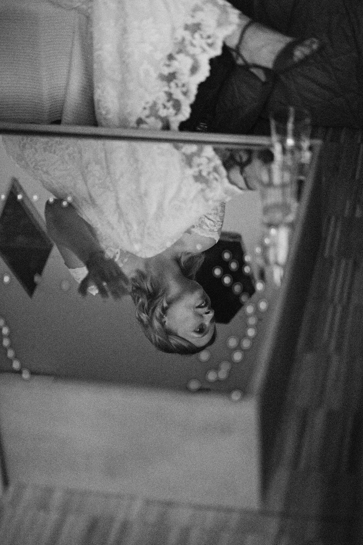 Braut bei einer Hochzeitsreportage in Leipzig