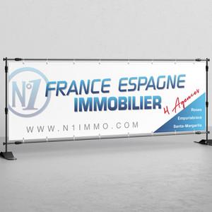 Valla publicitaria - Nº1 France Spagne