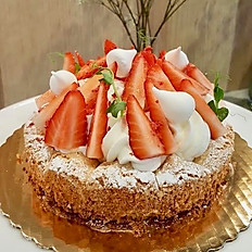 Dacquoise (Almond Biscuit) Cake