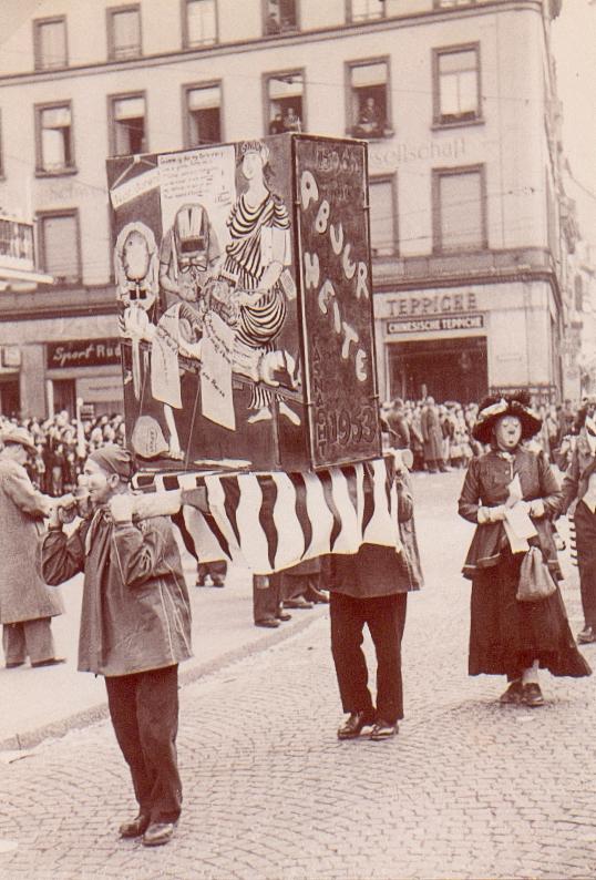 Fasnacht 1953