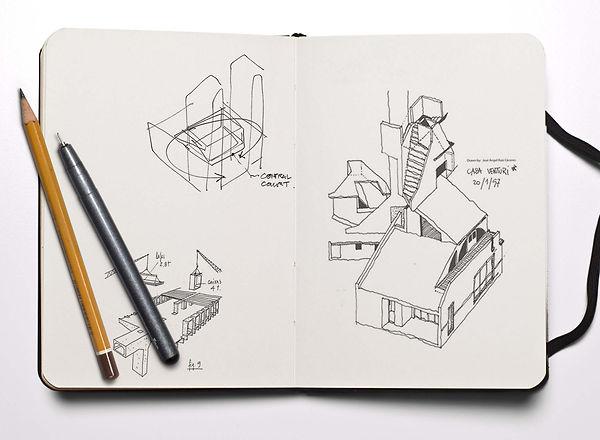 Diseño  viviendas unifamiliares Bizkaia
