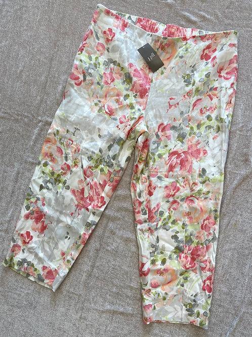 J.Jill Linen Stretch Crop Pants