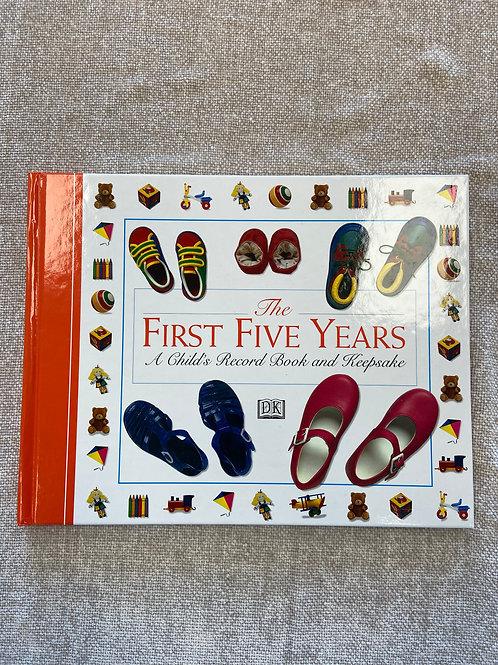 First Years Keepsake Book