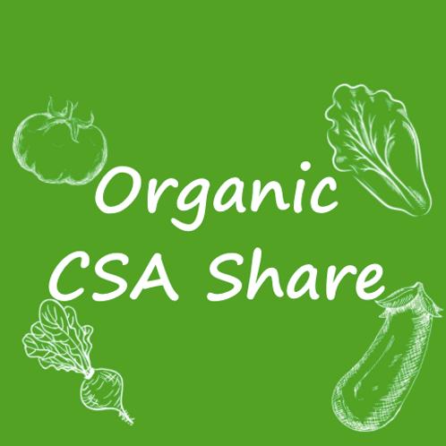 Organic Summer CSA