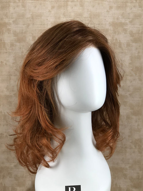 Raquel Welch Camera Ready Synthetic Wig in Copper Ombre