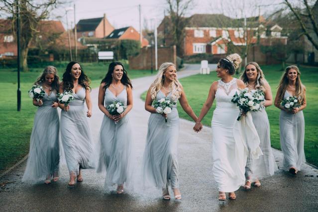 Bride squad!