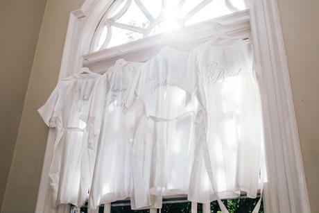 Bridal gown & brides maids gown