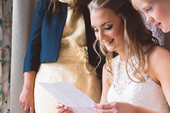 Pre-wedding letter