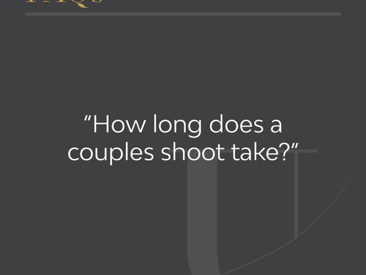 How long does a couples shoot take?