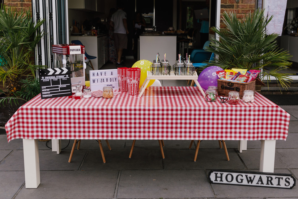Potter themed party