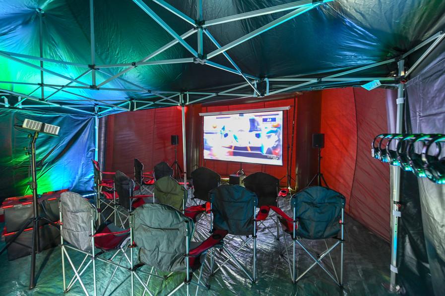 Large Movie Marquee Interior