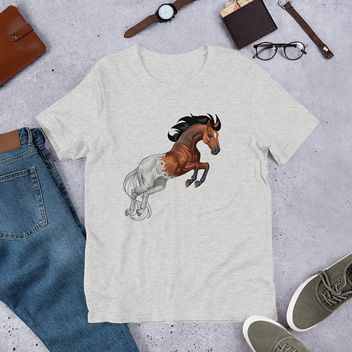 Horse Sketch to Paint - Short-Sleeve Unisex T-Shirt