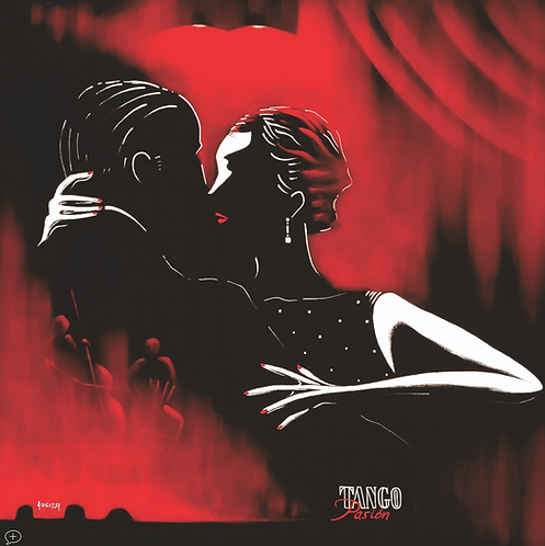 Tango Pasión  (80x80 cm)